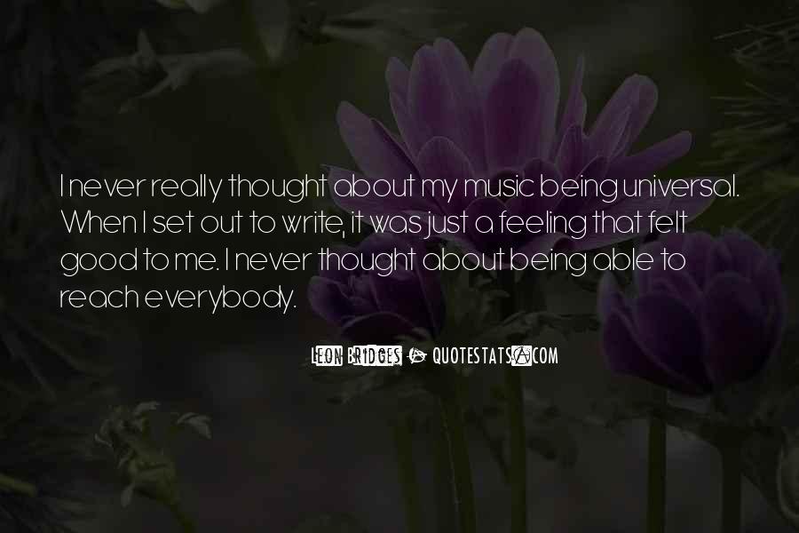 Leon Bridges Quotes #291999