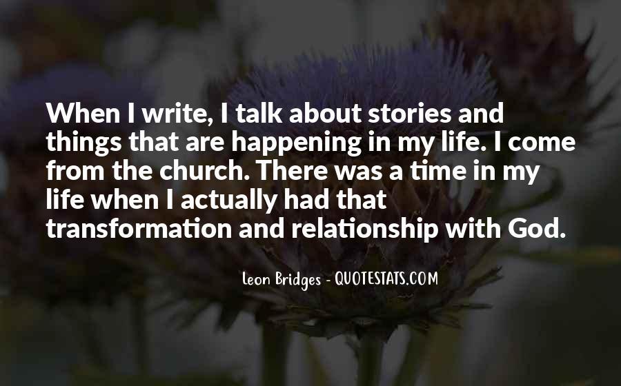 Leon Bridges Quotes #367833
