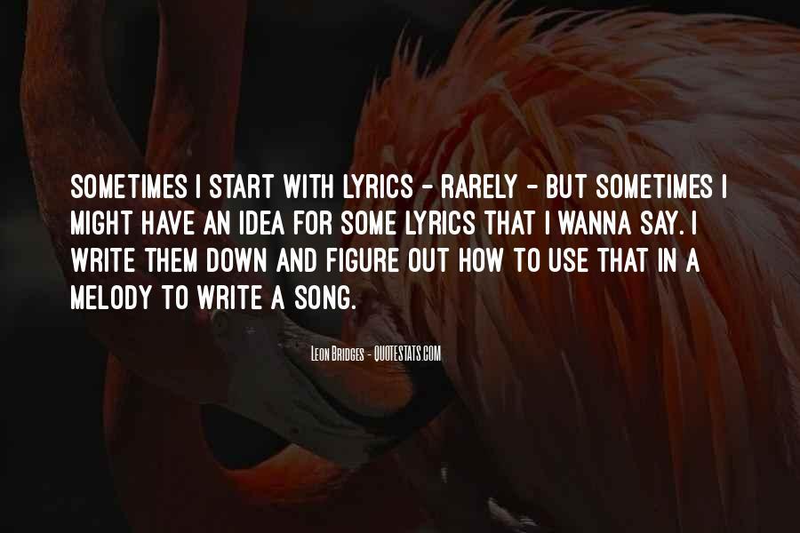 Leon Bridges Quotes #58895