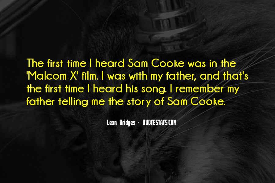 Leon Bridges Quotes #977498