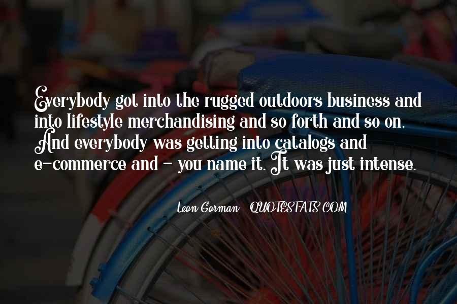 Leon Gorman Quotes #1180905