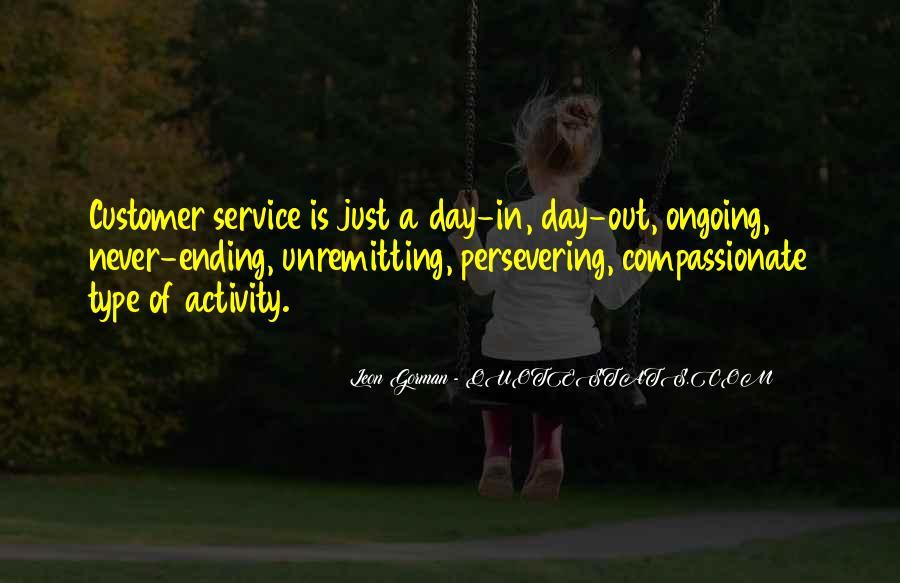 Leon Gorman Quotes #1240276