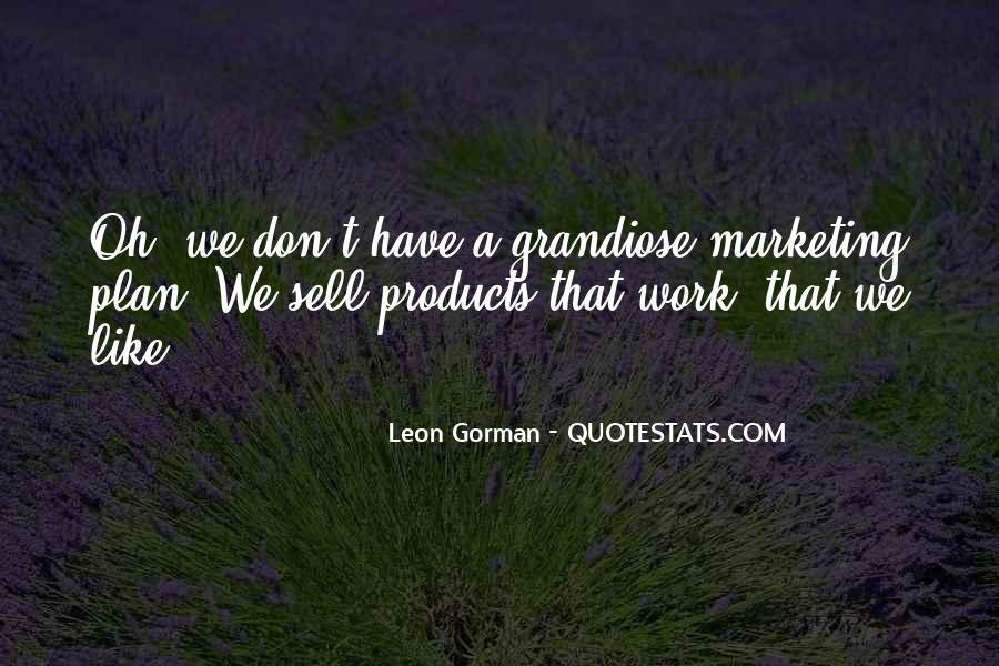 Leon Gorman Quotes #405335