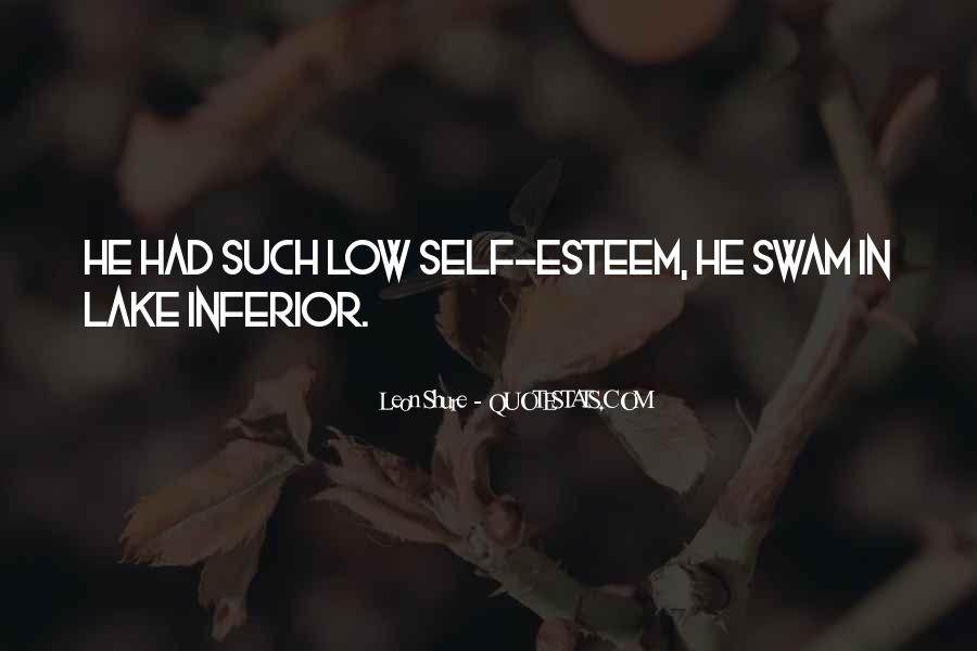 Leon Shure Quotes #1177303