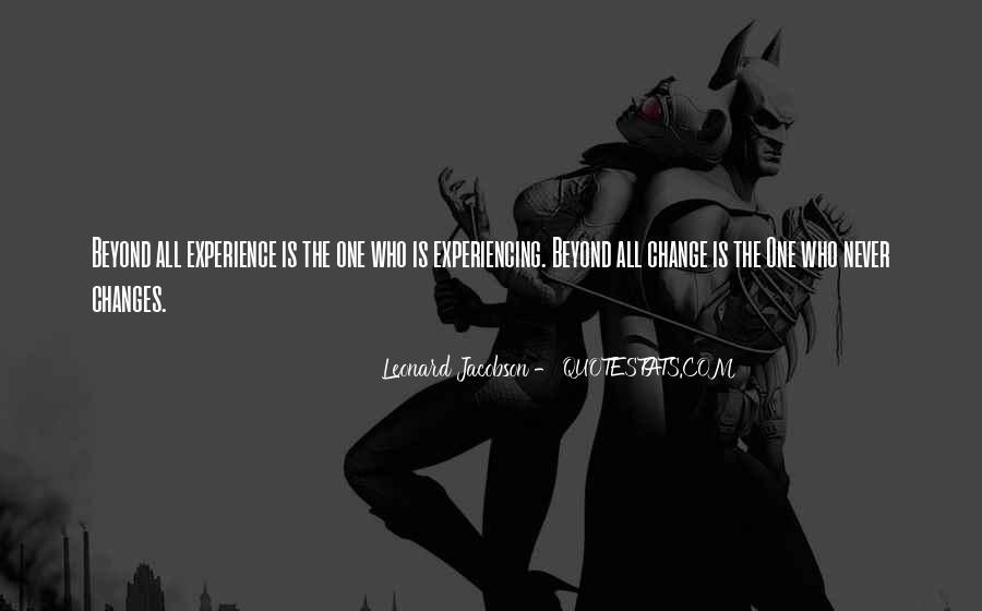 Leonard Jacobson Quotes #1096188