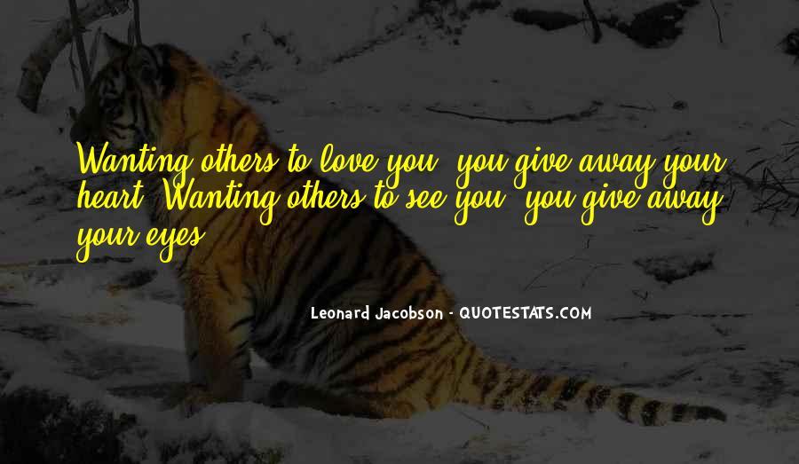 Leonard Jacobson Quotes #1129615