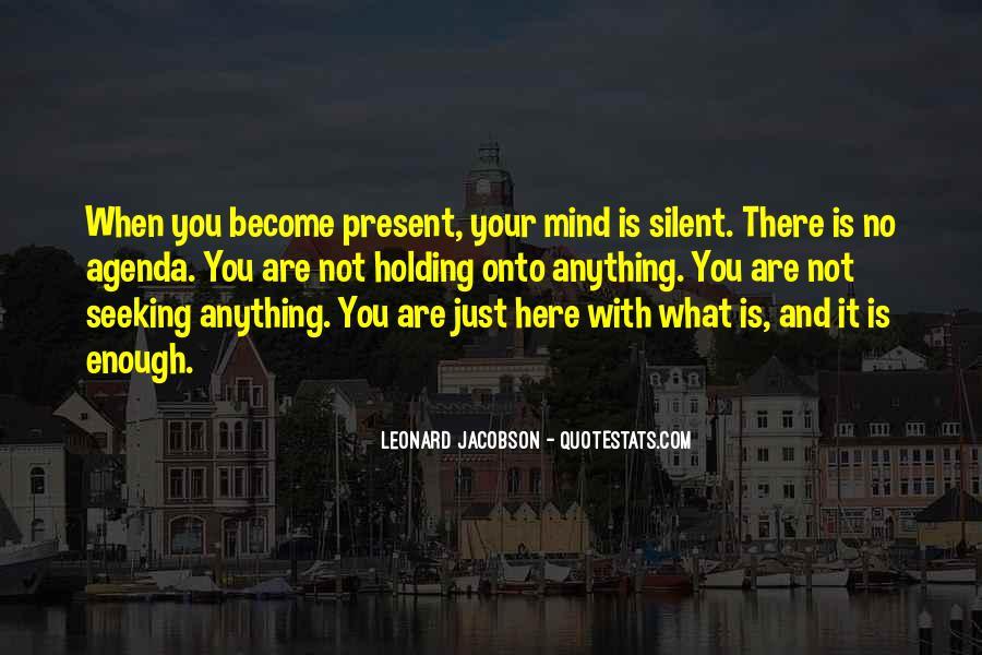 Leonard Jacobson Quotes #1247715