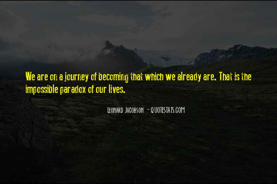 Leonard Jacobson Quotes #1758851