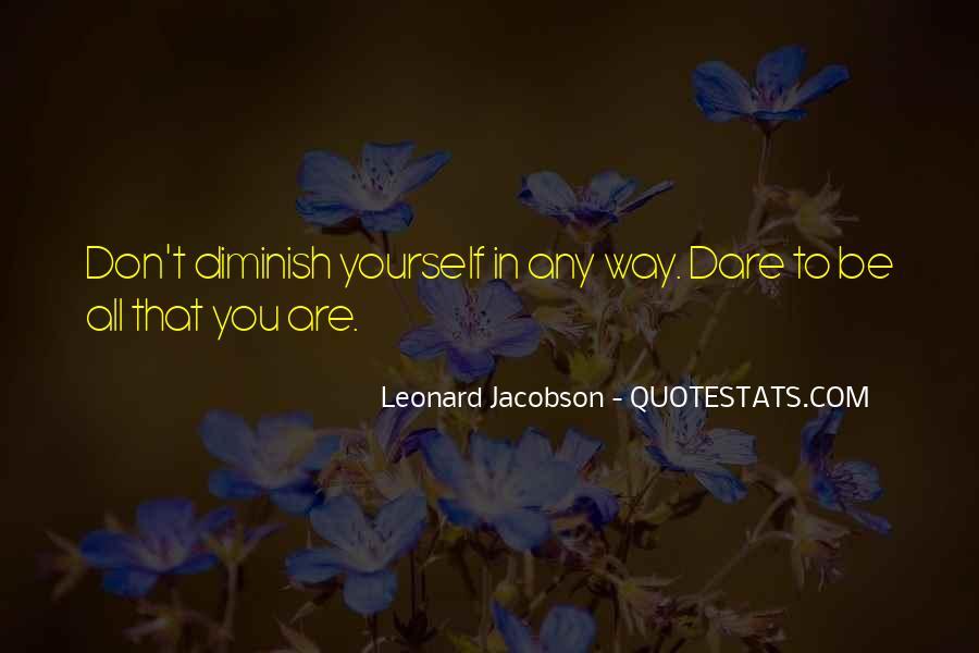 Leonard Jacobson Quotes #1760983