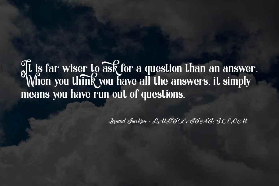 Leonard Jacobson Quotes #334154