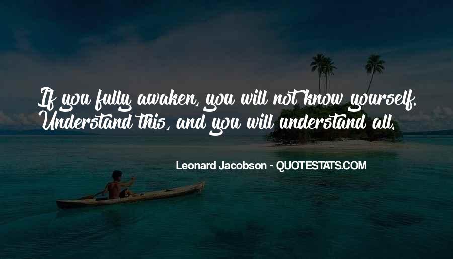 Leonard Jacobson Quotes #377392