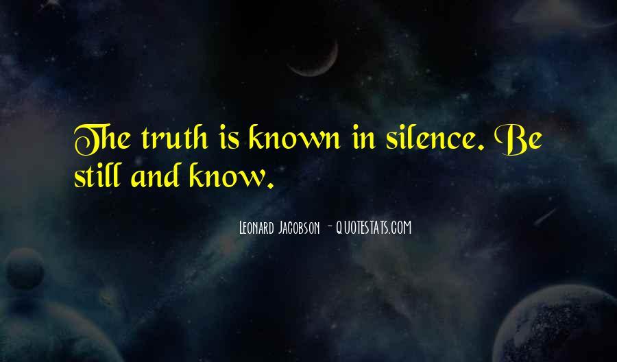 Leonard Jacobson Quotes #511187