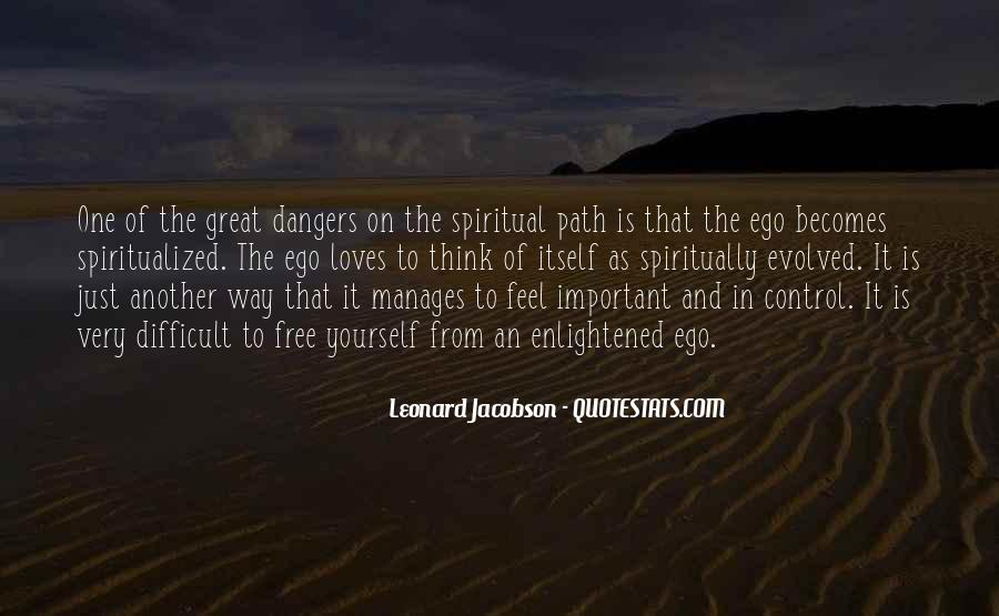 Leonard Jacobson Quotes #537782
