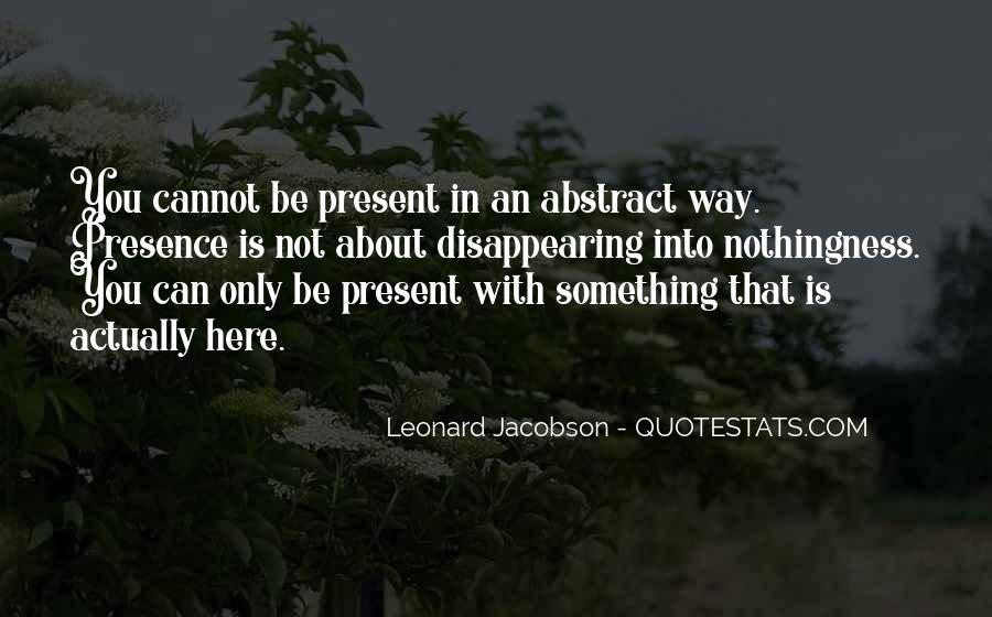 Leonard Jacobson Quotes #567836
