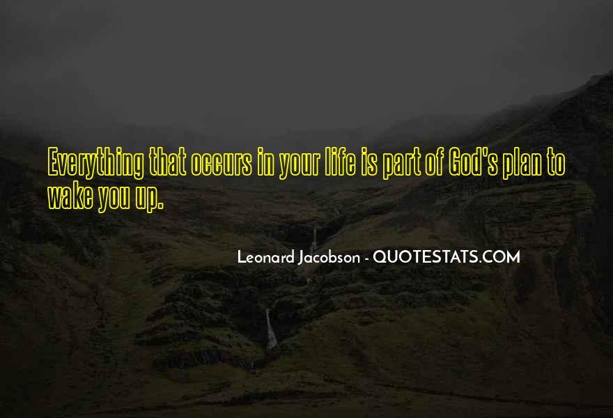 Leonard Jacobson Quotes #572651