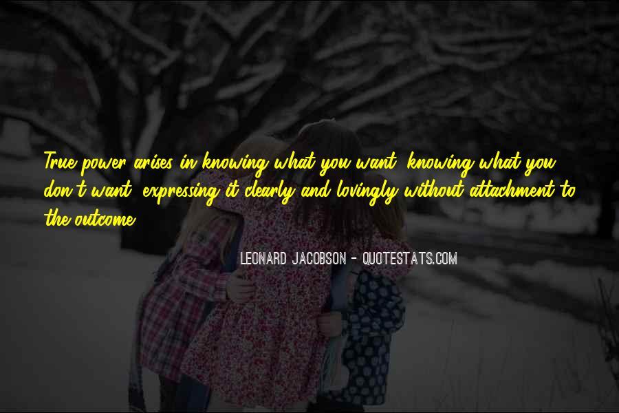 Leonard Jacobson Quotes #647683