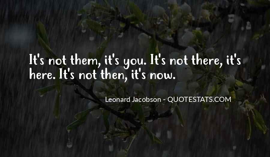 Leonard Jacobson Quotes #843690