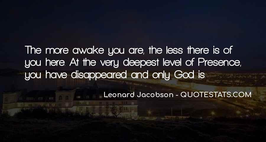 Leonard Jacobson Quotes #849428