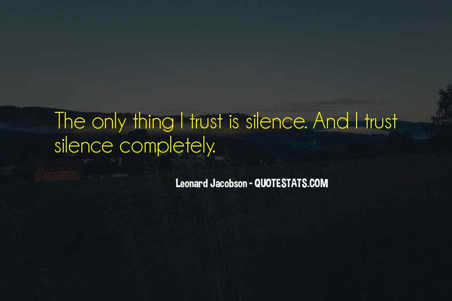 Leonard Jacobson Quotes #923479