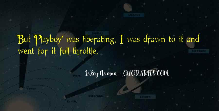 LeRoy Neiman Quotes #105612