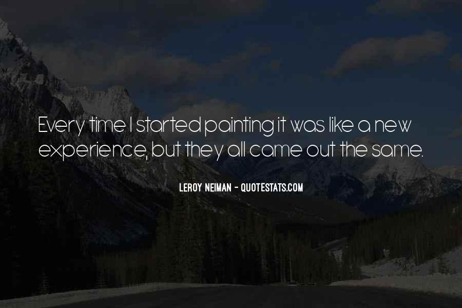 LeRoy Neiman Quotes #1455601
