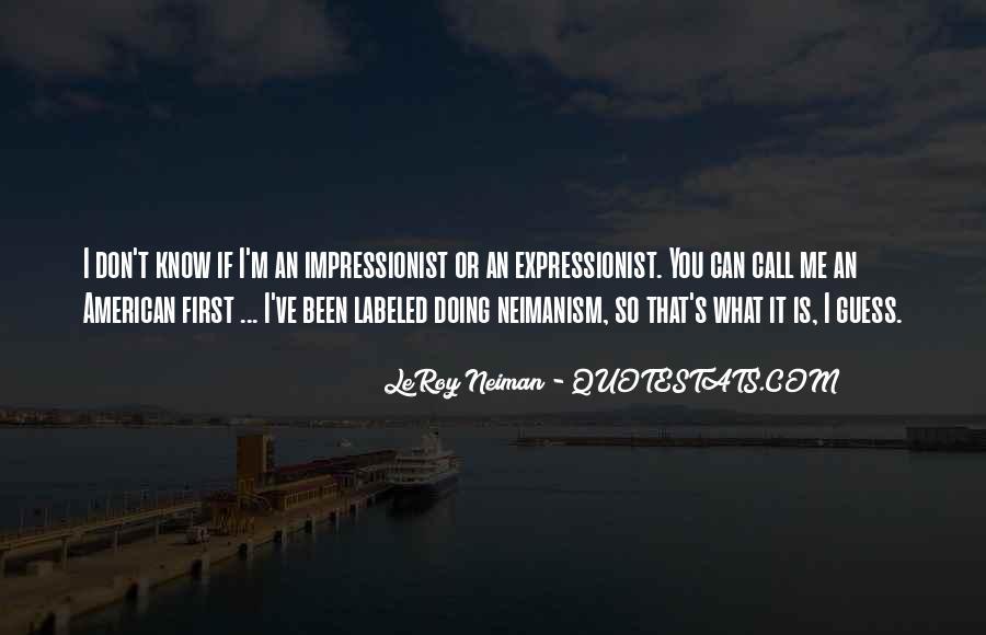 LeRoy Neiman Quotes #1641487