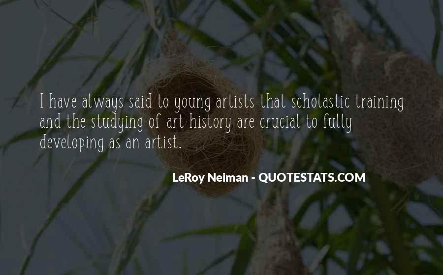 LeRoy Neiman Quotes #547313