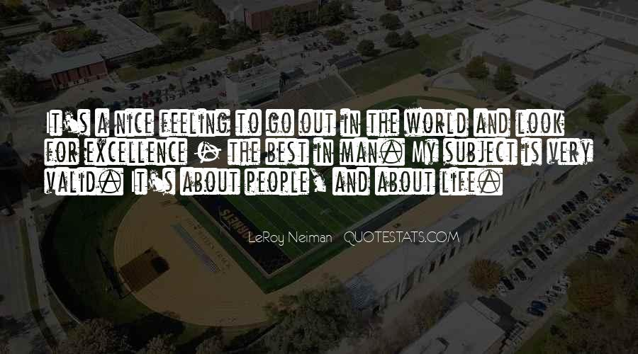 LeRoy Neiman Quotes #738919