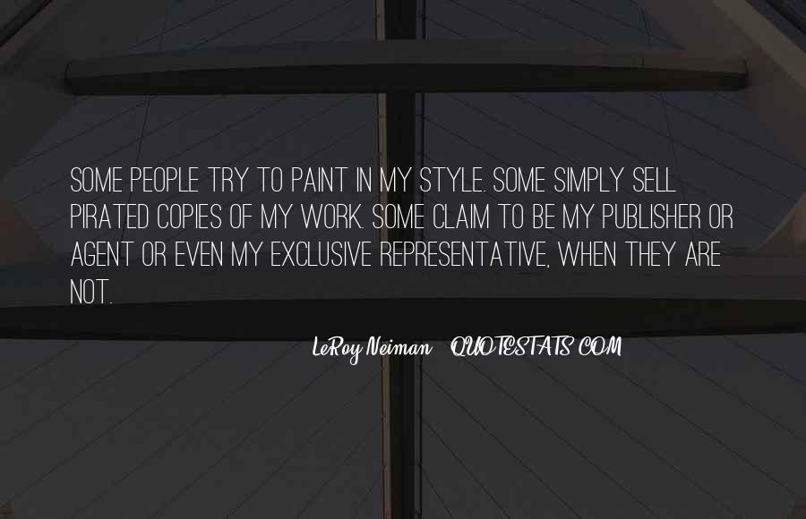 LeRoy Neiman Quotes #824903