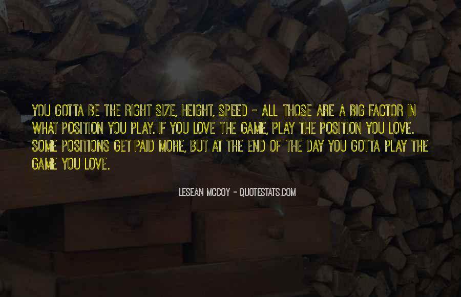 LeSean McCoy Quotes #967550