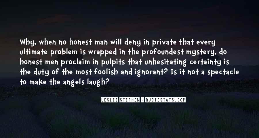 Leslie Stephen Quotes #1011912