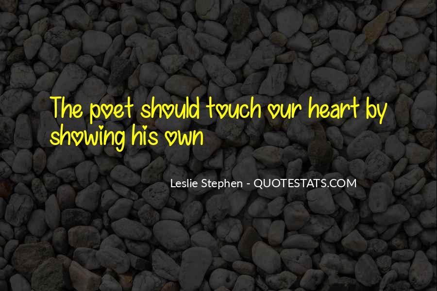 Leslie Stephen Quotes #1045413