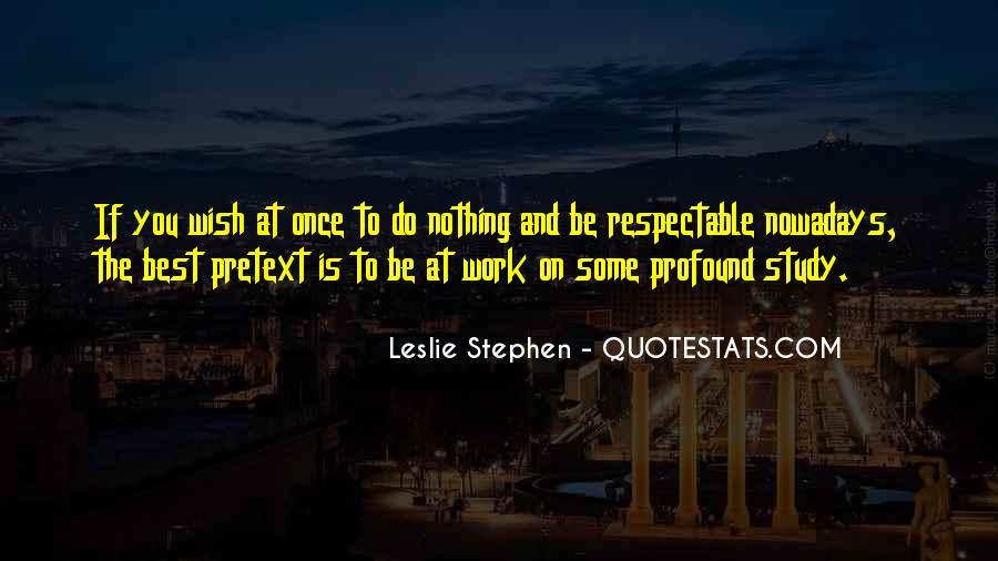 Leslie Stephen Quotes #11727