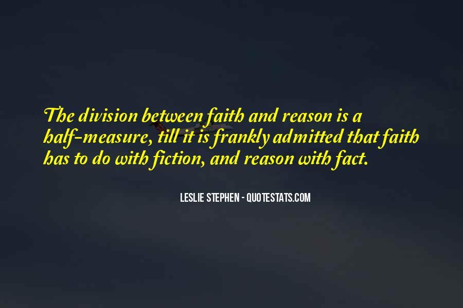 Leslie Stephen Quotes #1350879