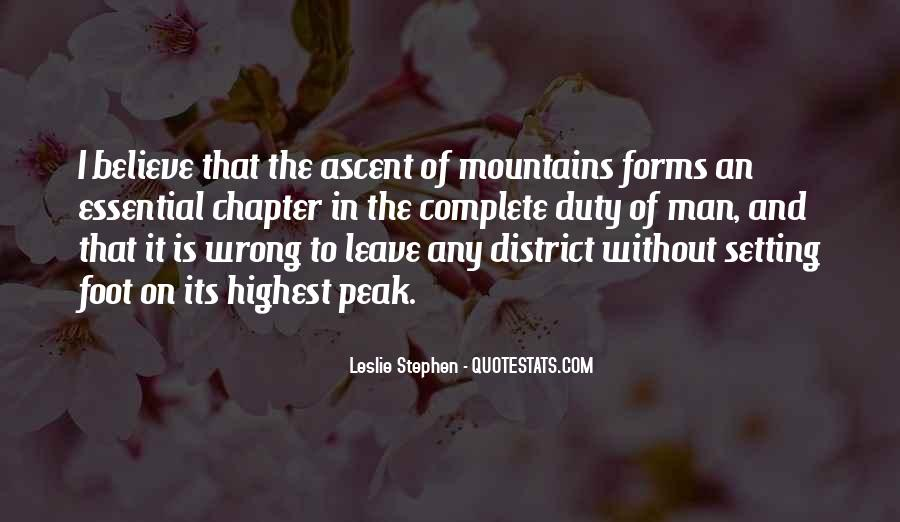 Leslie Stephen Quotes #1612404