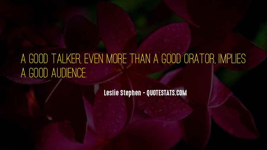 Leslie Stephen Quotes #1628537
