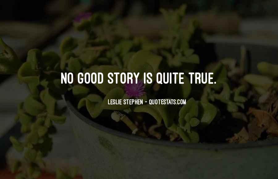 Leslie Stephen Quotes #1748678