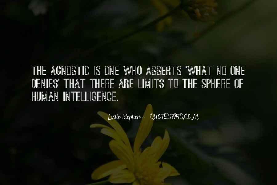 Leslie Stephen Quotes #1794352