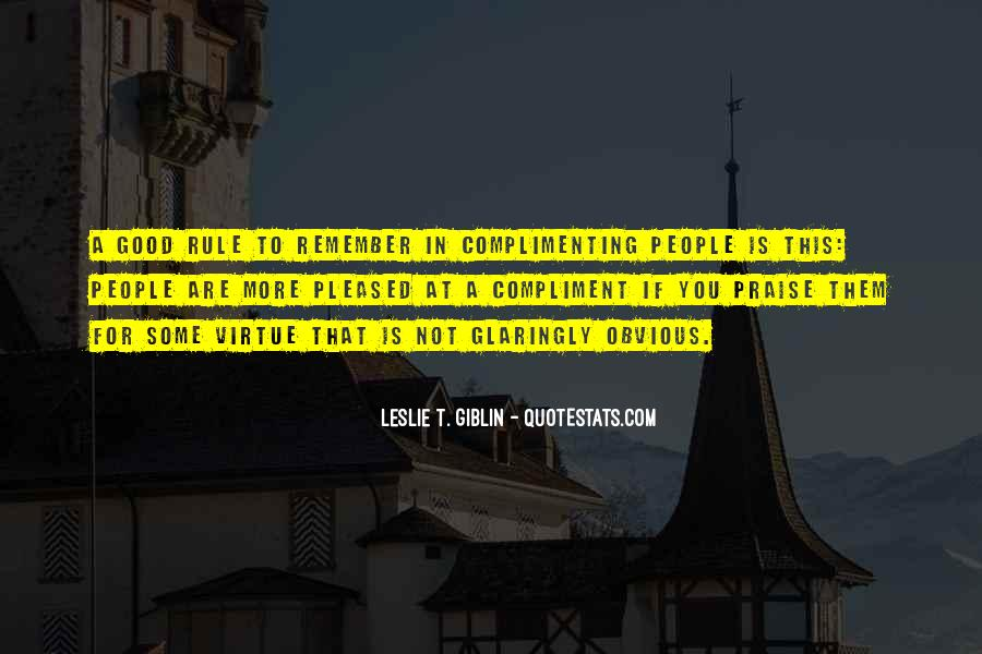 Leslie T. Giblin Quotes #222178