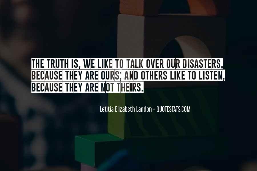 Letitia Elizabeth Landon Quotes #1057202