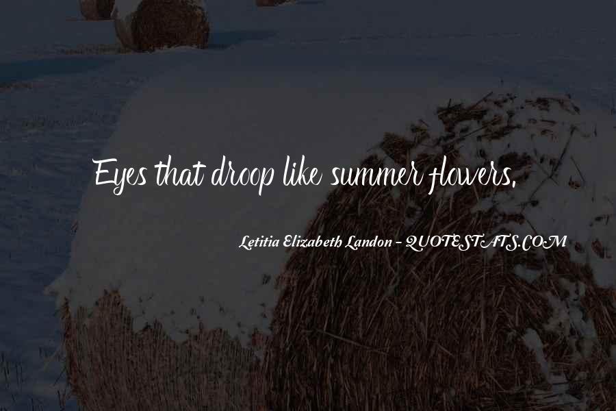 Letitia Elizabeth Landon Quotes #112270