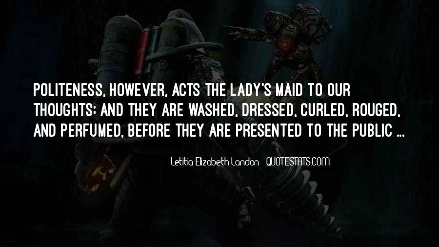 Letitia Elizabeth Landon Quotes #1261608