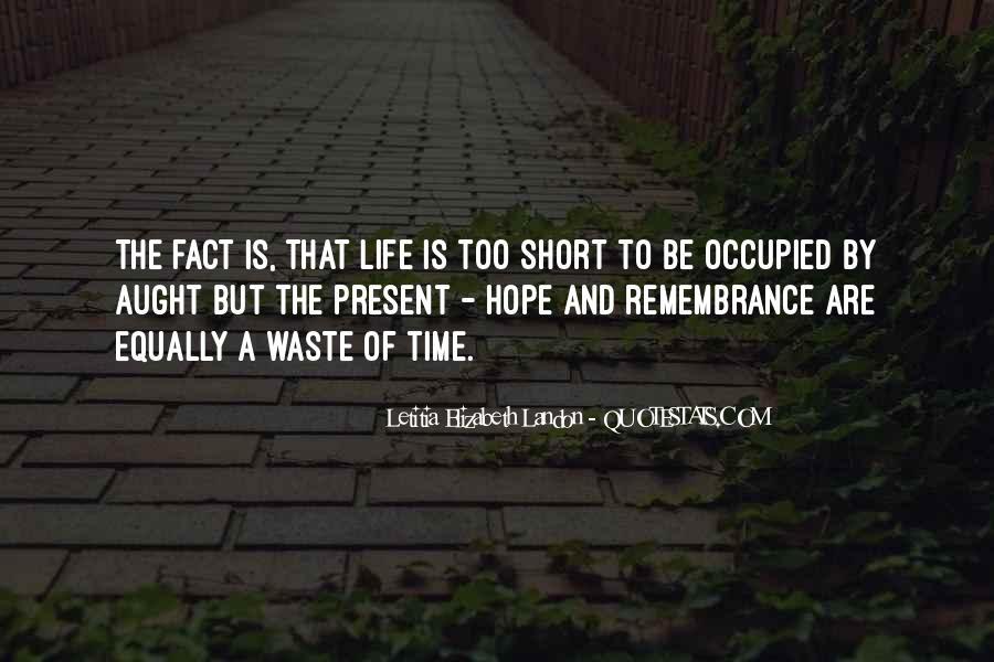 Letitia Elizabeth Landon Quotes #1273524