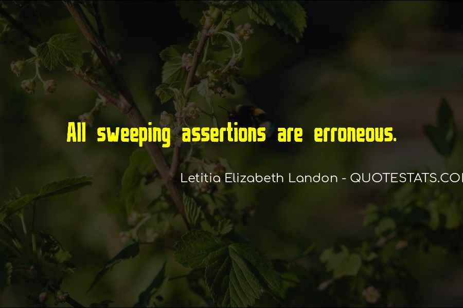 Letitia Elizabeth Landon Quotes #1306955