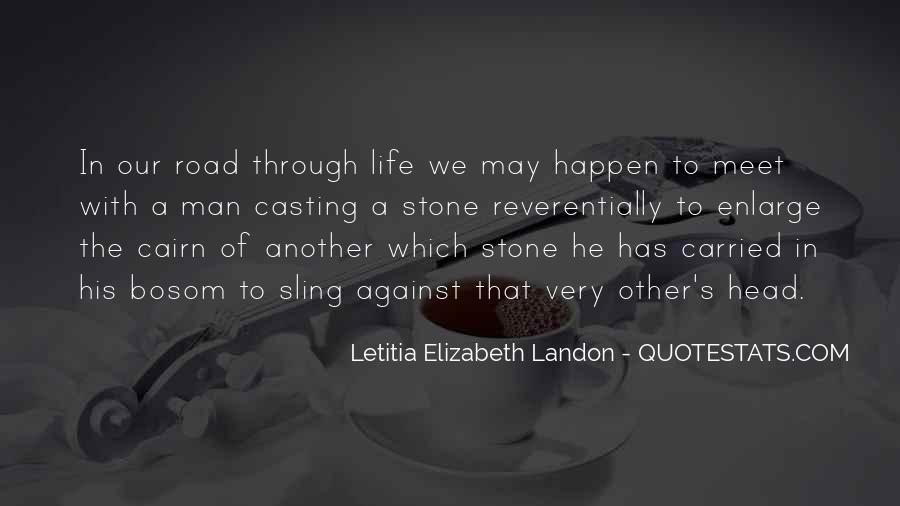 Letitia Elizabeth Landon Quotes #1623298
