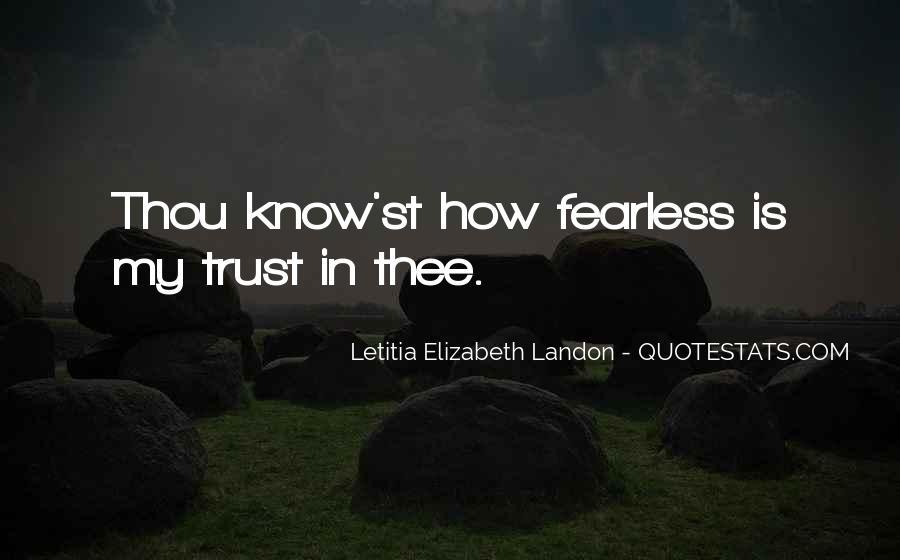 Letitia Elizabeth Landon Quotes #1643590