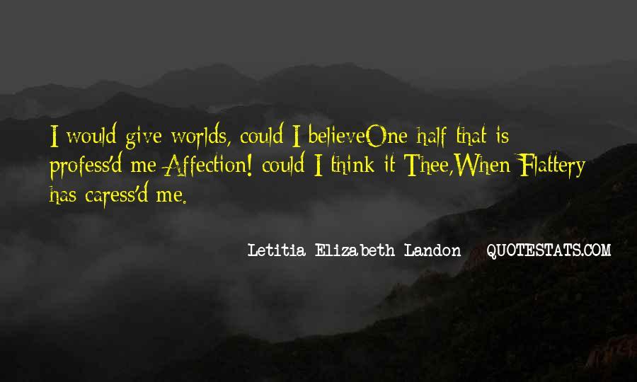 Letitia Elizabeth Landon Quotes #1679729
