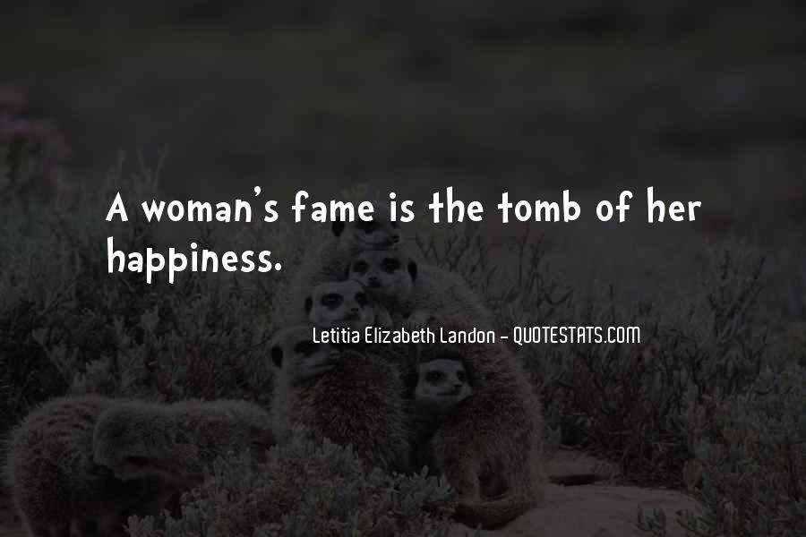 Letitia Elizabeth Landon Quotes #1681598