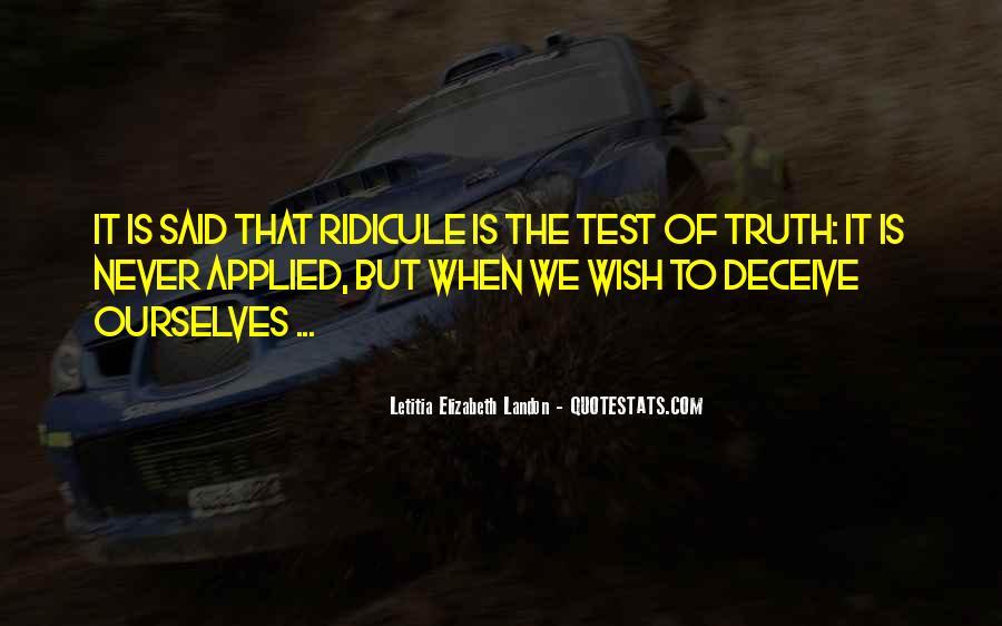 Letitia Elizabeth Landon Quotes #1681997