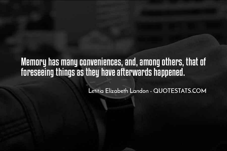 Letitia Elizabeth Landon Quotes #229580